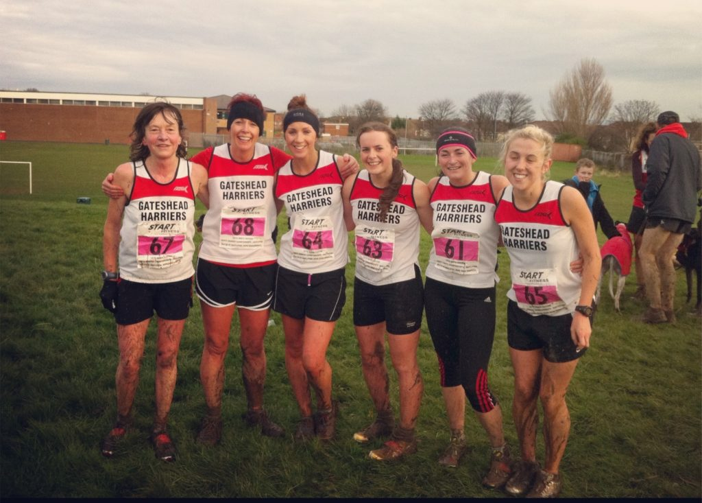 Gateshead Women's North East XC Team 2012
